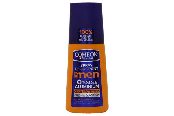اسپری دئودورانت ضد حساسیت مردانه کامان