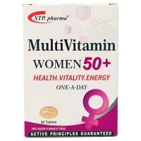 قرص مولتی ویتامین خانم های بالای 50 سال اس تی پی فارما