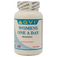 قرص مولتی ویتامین خانم ها جی وی آی 100 عددی