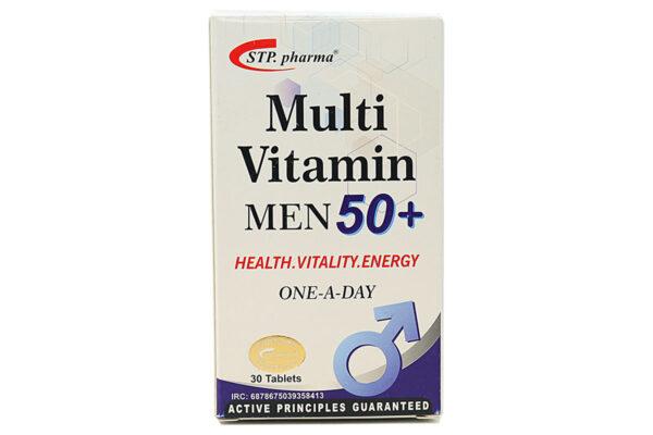 قرص مولتی ویتامین مردان بالای 50 سال اس تی پی فارما