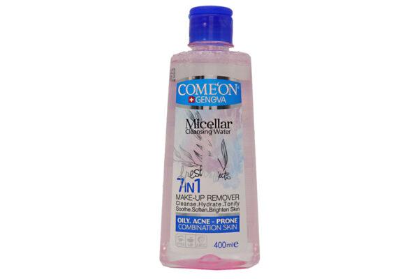 محلول پاک کننده آرایش صورت کامان