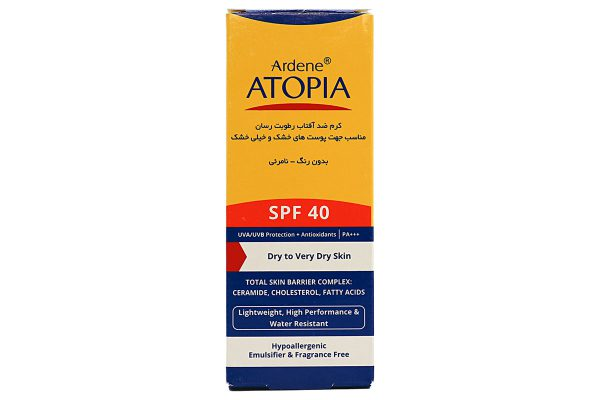 کرم ضد آفتاب رطوبت رسان آردن آتوپیا