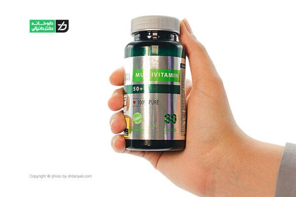 کپسول مولتی ویتامین بالای 50 سال نوفرما نچرالز