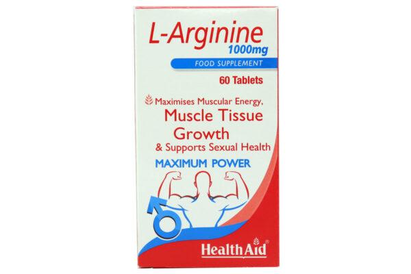 ال آرژنین هلث اید 1000 میلی گرم