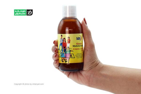 شربت کیندر مولتی ویتامین