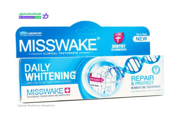 خمیر دندان سفید کننده روزانه میسویک